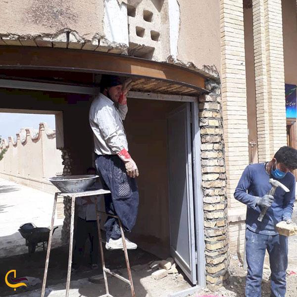 عکس مرمت قلعه سالار محتشم