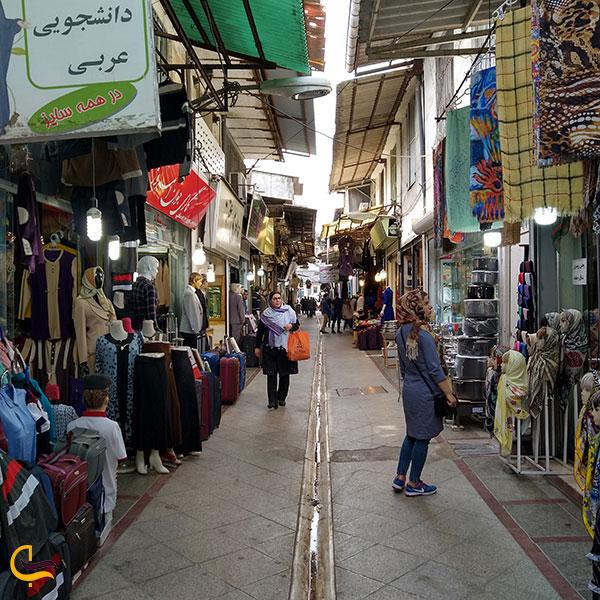 عکس بازار قدیم آمل