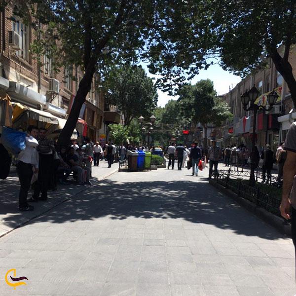 عکس کوچههای قدیمی خیابان تربیت تبریز
