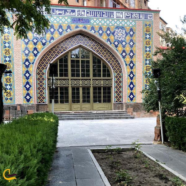 تصویری از مسجد کبود ایروان