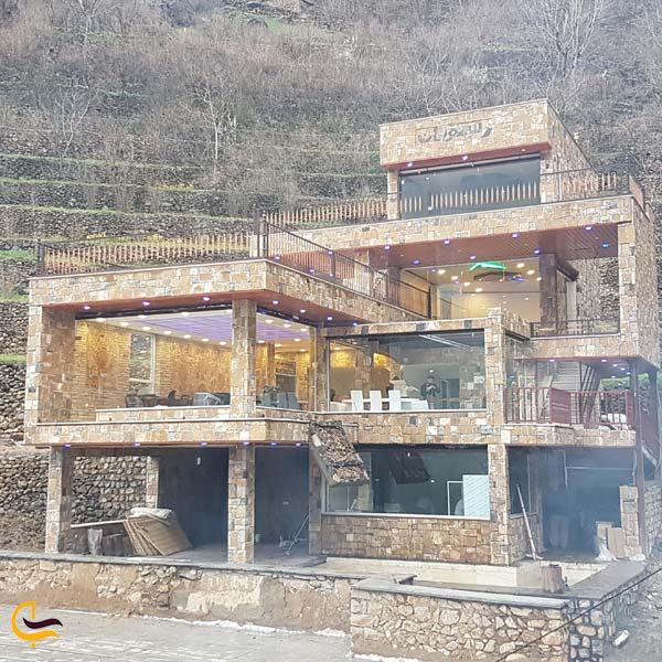 تصویری از رستوران و غذاهای محلی روستای هجیج