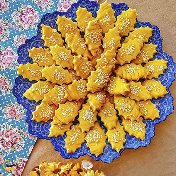 عکس نان و شیرینی سوغات قزوین