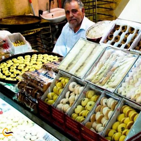 عکس بازار نان برنجی در کرمانشاه