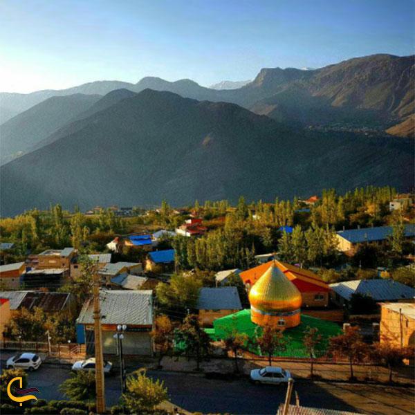 عکس روستای آبگرم رینه