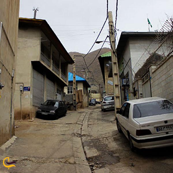 عکس خانه های روستایی روستای برگ جهان