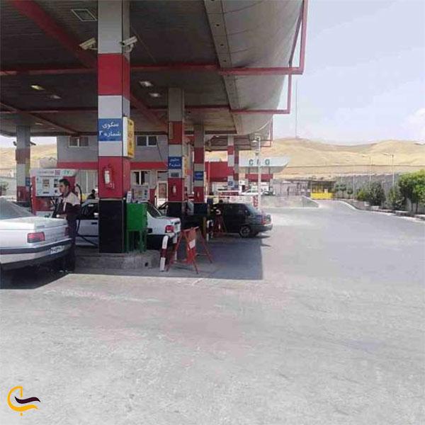 عکس پمپ بنزین صالح آباد