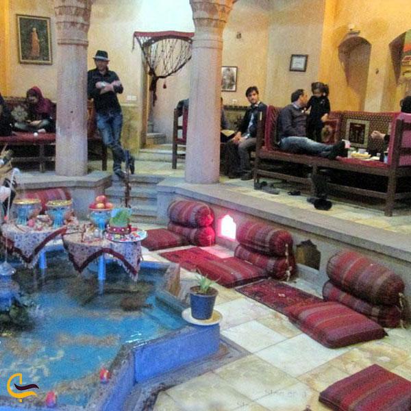 عکس سفرهخانه شهریار در حمام تاریخی نوبر تبریز