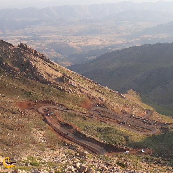 تصویری از ارتفاعات شاهو جاهای دیدنی روستای هجیج
