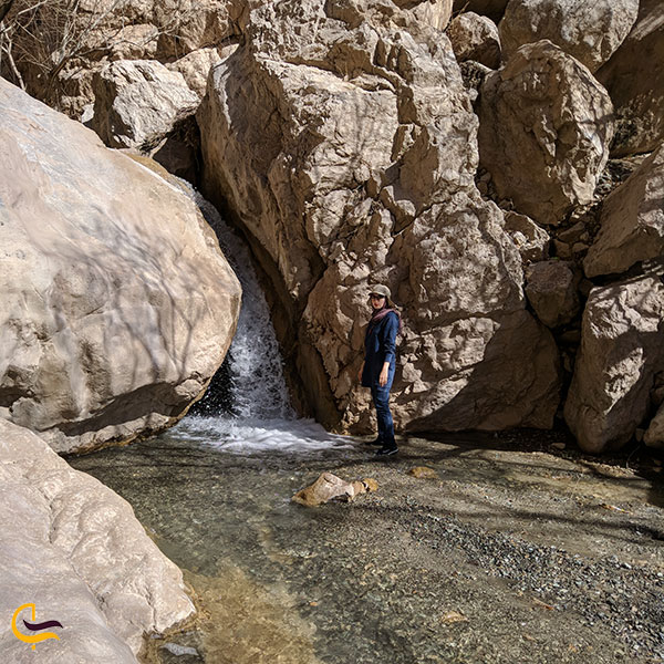 عکس بهترین فصل بازدید از ابشار رود معجن
