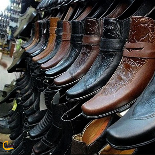 عکس بازارچه کفش چهارراه اجاق در کرمانشاه