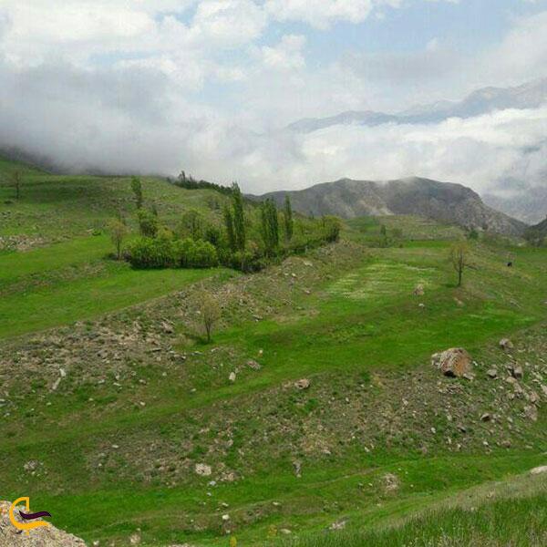 عکس طبیعت لاریجان