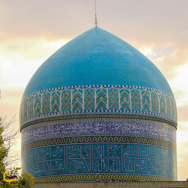 عکس گنبد ارامگاه خواجه ربیع