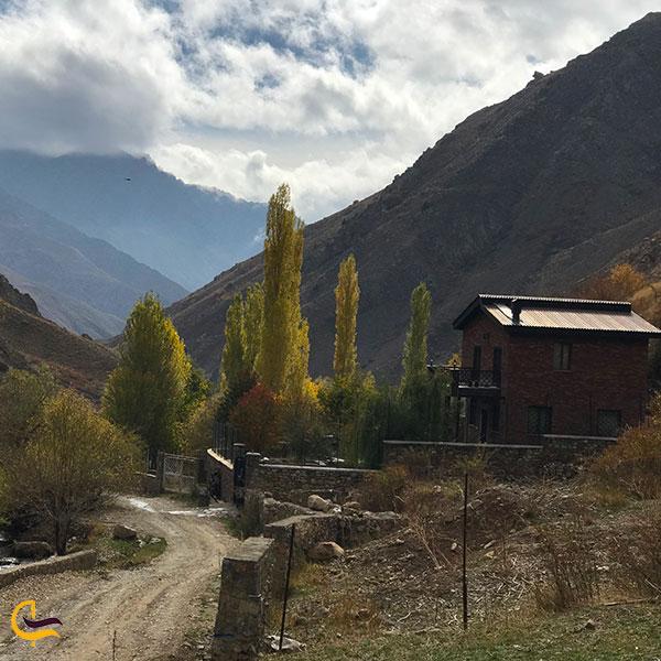 عکس طبیعت زیبای روستای آبنیک