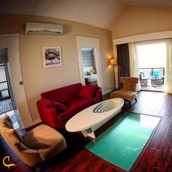 تصویری از هتل ترنج کیش