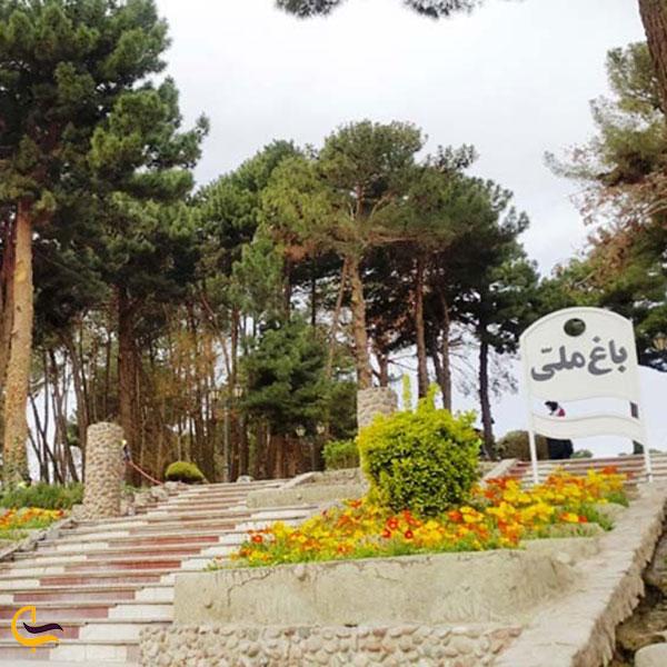 عکس باغ ملی تربت حیدریه