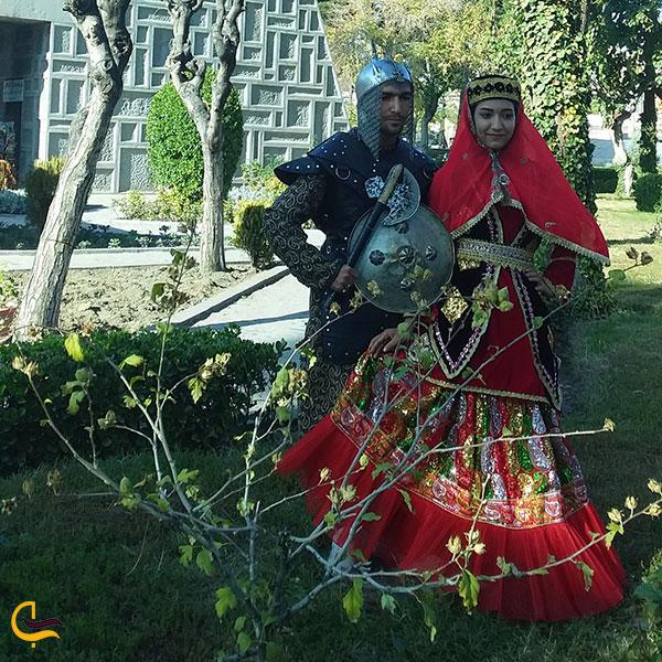 عکس امکانات گردشگران در باغ موزه نادری