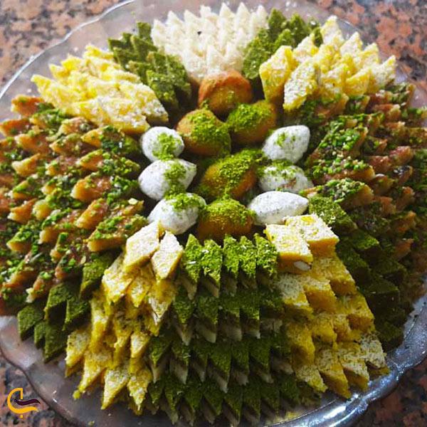 عکس انواع لوز یزدی