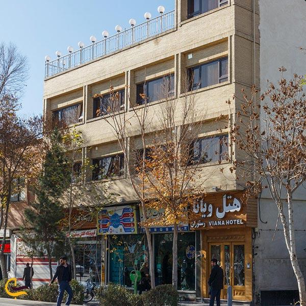 نمایی از هتل ویانا اصفهان
