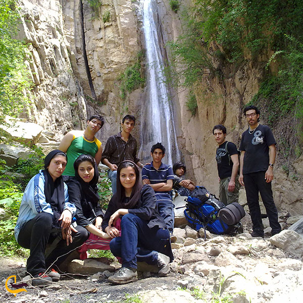 عکس آبشار چلی