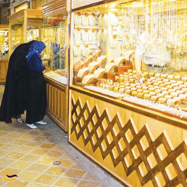 عکس بازار طلا در یزد