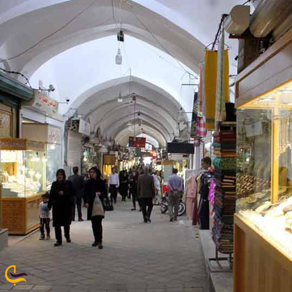 تصویری از بازار زرگری یزد