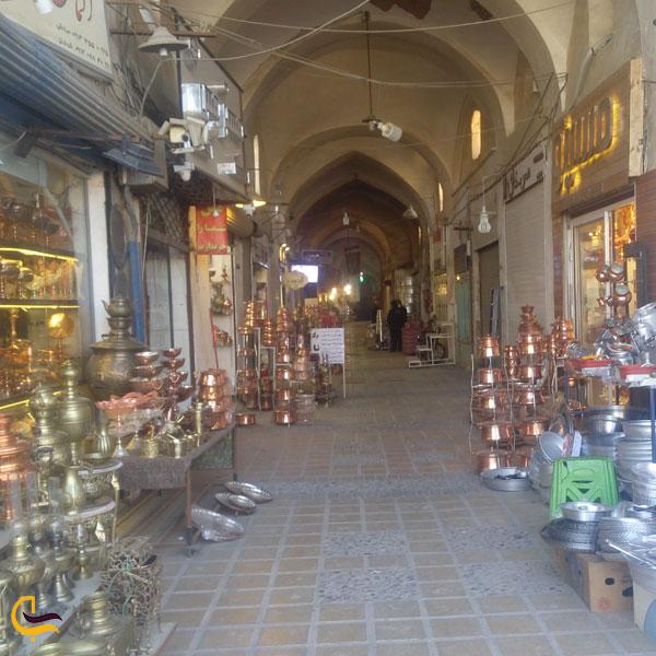 تصویری از بازار خان یزد