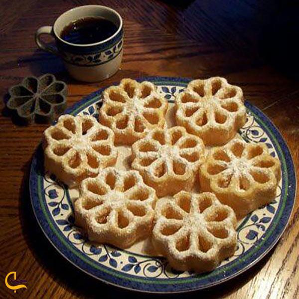 عکس شیرینی پنجرهای یزدی