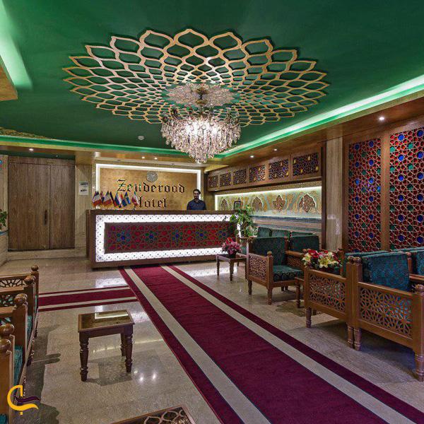 تصویری از هتل زنده رود اصفهان