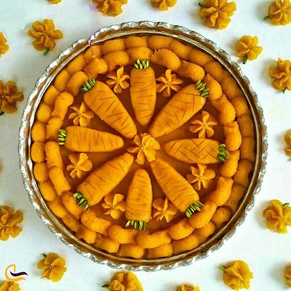 تصویری از حلوای هویج