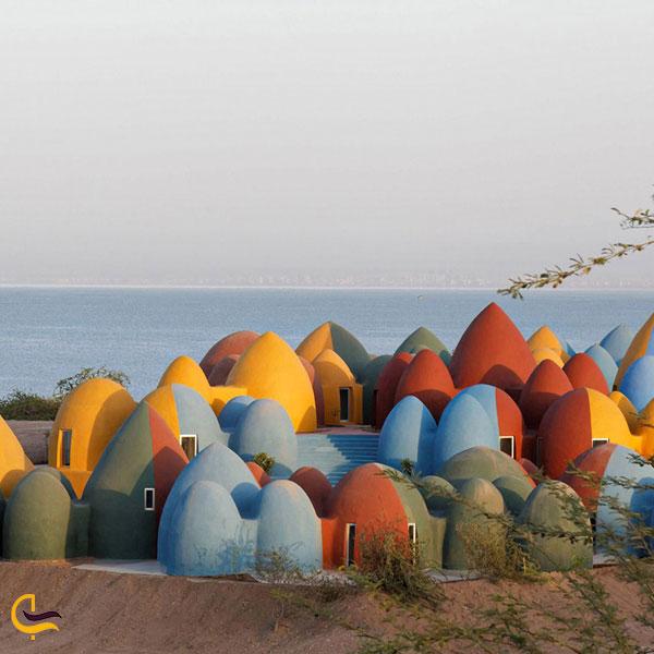 تصویری از اقامتگاه ماجرا جزیره هرمز