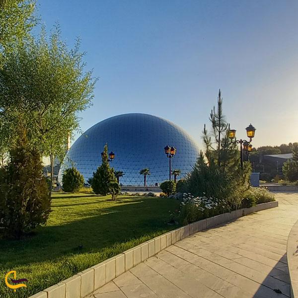 تصویری از پارک دریاچه هنر تهران