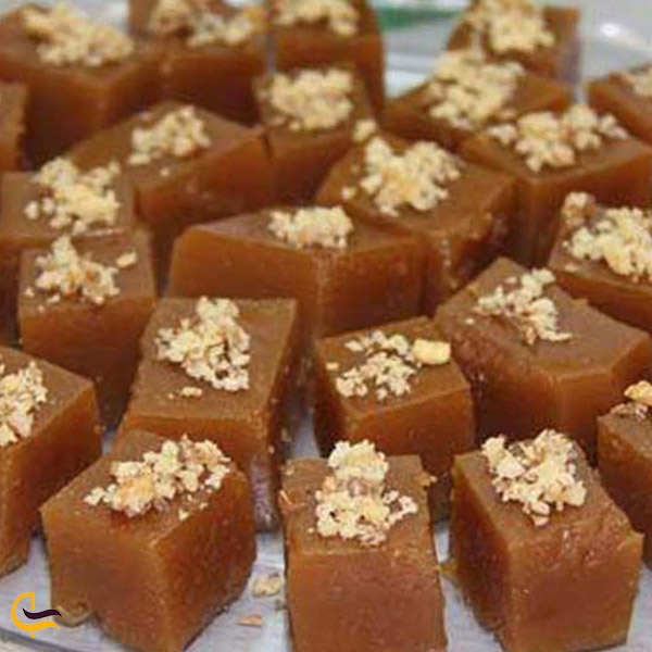 تصویری از لوزانک سوغات ارومیه