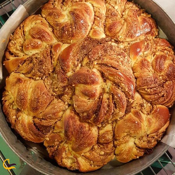 تصویری از نان ارده