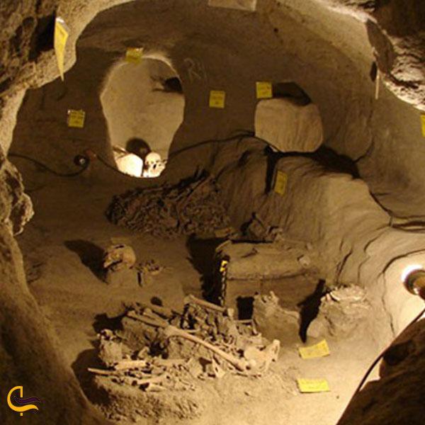 تصویری از شهر زیرزمینی سامن