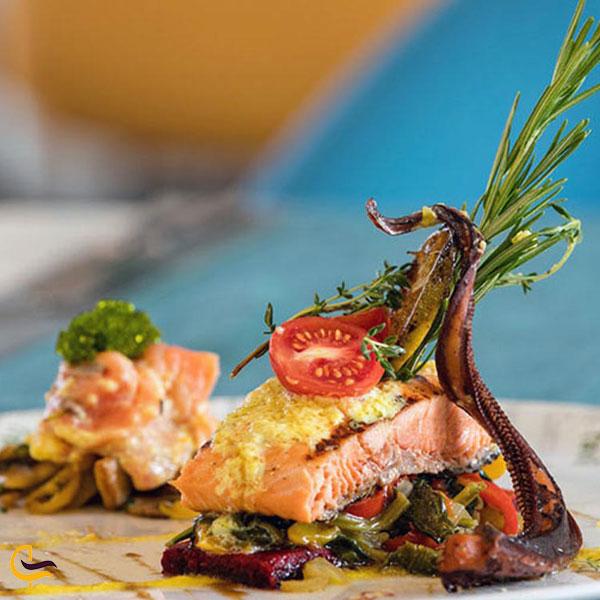 تصویری از غذاهای رستورانهای اطراف دریاچه