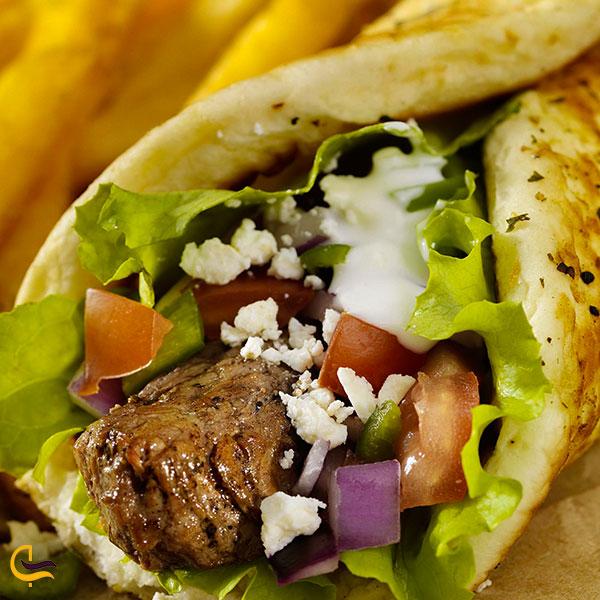 عکس ساندویچ آدانا کباب استانبول