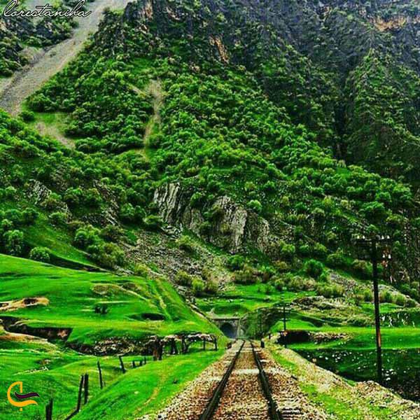 مسیر خط راه آهن تهران – اهواز