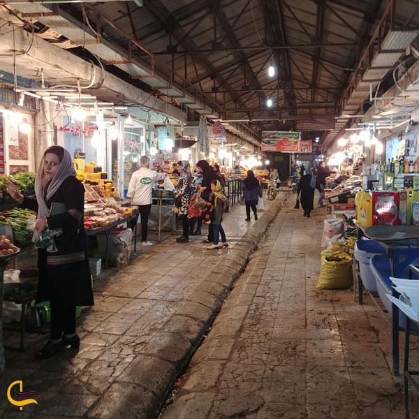 تصویری از بازار قدیم بوشهر
