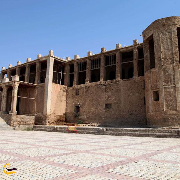 تصویری از عمارت ملک بوشهر