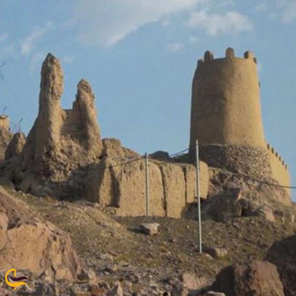 عکس بخش های مختلف قلعه ضرغام کهنوج