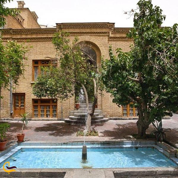 عکس خانه موزه دکتر معین