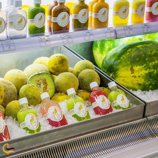 عکس مغازه های آبمیوه تازه در استانبول