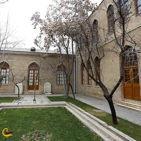 عکس باغ موزه نگارستان