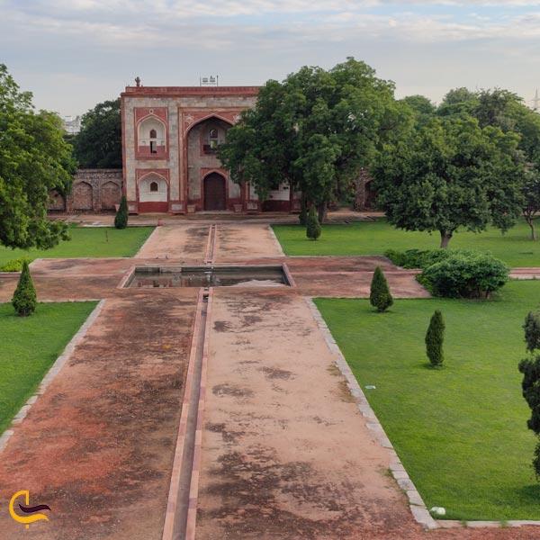 تصویری از مقبره همایون هند