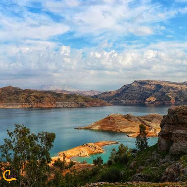 تصویری از دریاچه شهیون