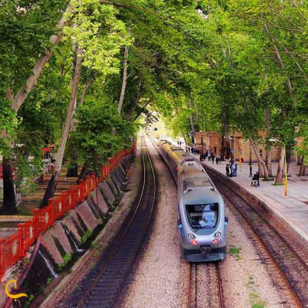 عکس مسیرخط راه آهن گردشگری لرستان