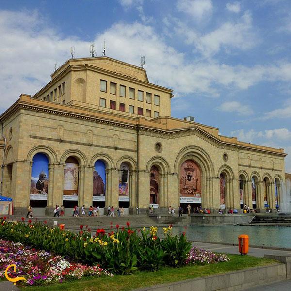 عکس نگارخانه ملی و ساختمان موزه