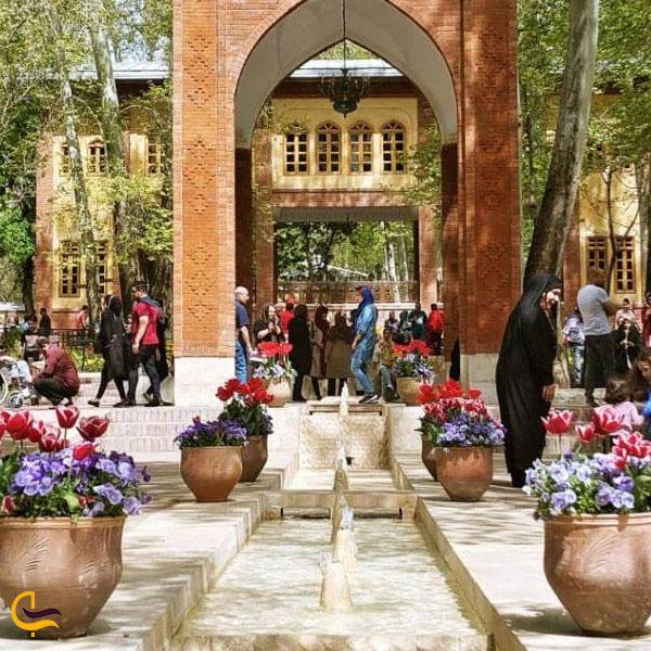 تصویری از باغ های ایرانی