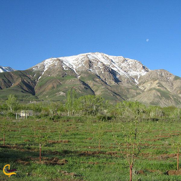 عکس رشته کوههای میشو داغ