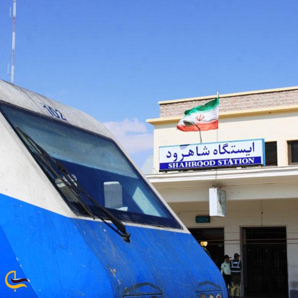 عکس ایستگاه شاهرود در مسیر ریلی مشهد – ساری